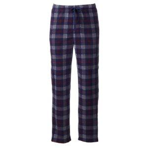 Men's Croft & Barrow® Patterned Microfleece Lounge Pants