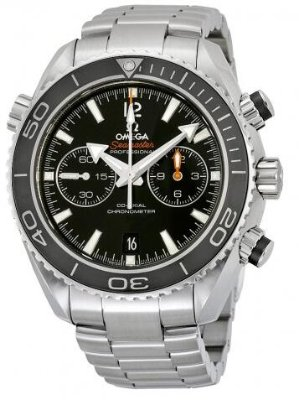 OMEGA Seamaster Planet Ocean Black Dial Stainless Steel Men's Watch 23230465101001