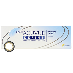 1 Day Acuvue Define (Natural Shine) : Cheap Contact Lenses & Great Service | PerfectLensWorld