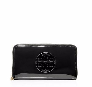 PATENT LEATHER CONTINENTAL WALLET @ Tory Burch