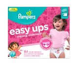 Amazon.com: Pampers Girls Easy Ups Training Underwear, 2T-3T (Size 4), 164 Count: Health & Personal Care