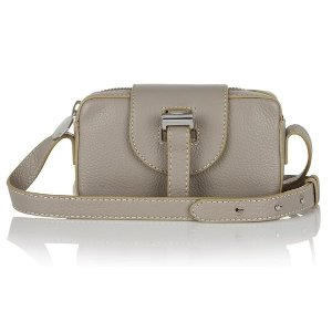 Microbox cross body bag taupe Double 12 sale