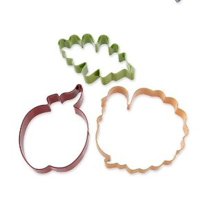 Fall Cookie Cutter Set on Ring | Williams-Sonoma