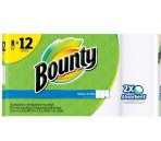 $17.98+$5GC Bounty Select-A-Size White Paper Towels 16 Giant Rolls @ Target