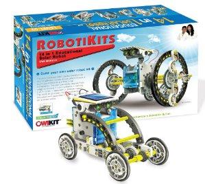 $19.47 OWI 14-in-1 Solar Robot