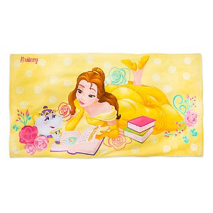 Belle Beach Towel - Personalizable | Disney Store