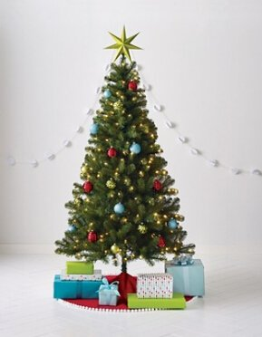 $50 off $100 Holiday decorations & trees @Target