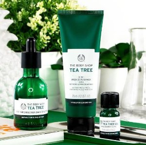 40% Off Tea Tree Collection @ The Body Shop Dealmoon Singles Day Exclusive