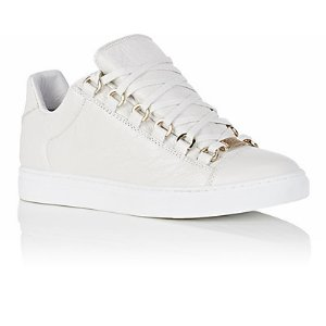 Balenciaga Arena Leather Low-Top Sneakers | Barneys New York