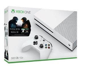 $299.99 + $50 eGift Card Xbox One S 500GB  Console + Halo Collection Bundle