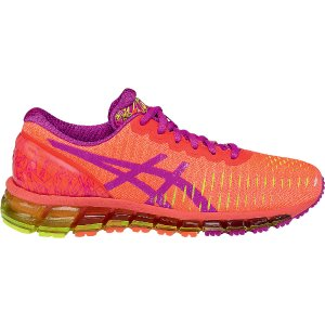 GEL-Quantum 360 | Women | Flash Coral/Pink Glow/Flash Yellow