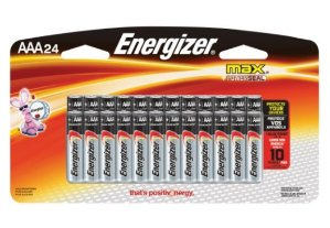 $8.48Energizer MAX AAA Batteries, Designed to Prevent Damaging Leaks (24-Count)