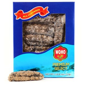 American Wild Caught Sea Cucumber Medium- 4 Oz