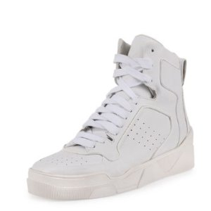 Givenchy Tyson Leather High-Top Sneaker @ Neiman Marcus