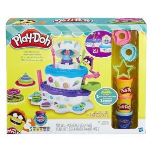 Play-Doh 2-in-1 Sweet Shoppe Cake Mountain Playset - Hasbro - Toys