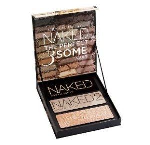 $115 URBAN DECAY COSMETICS  Naked: The Perfect 3Some Vault