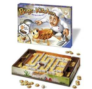 Bugs in the Kitchen Children's Board Game