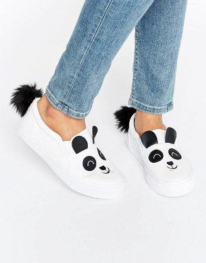 $38 ASOS DEXTER Panda Sneakers