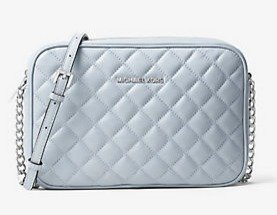 $103.95(Org. $198) MICHAEL MICHAEL KORS Jet Set Travel Large Quilted-Leather Crossbody @ Michael Kors
