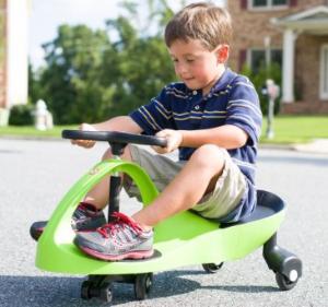 Children's Rainbow Swing Car