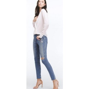 The Sophia 女式紧身牛仔裤
