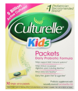 $15.65 Culturelle Probiotics for Kids Packets, 30 Count