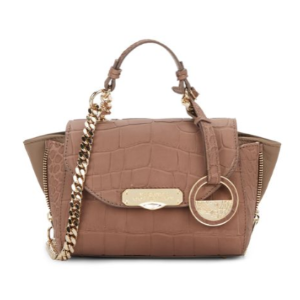 Versace Collection - Chain Detailed Leather Tote - saksoff5th.com