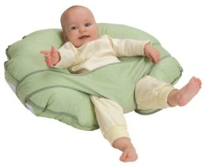 $23.31 Leachco Cuddle-U Nursing Pillow and More, Sage Pin Dot