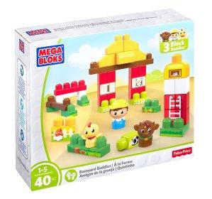 $7.26 Mega Bloks First Builders Barnyard Buddies Building Set