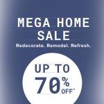 Mega home goods sale @ Overstock