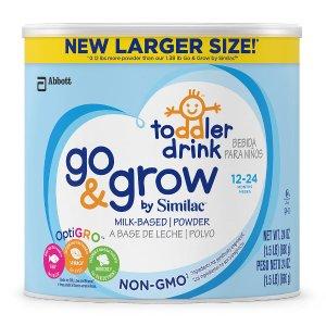 Similac Go & Grow Non-GMO Powder Can Toddler Drink - 24 Ounce - Abbott Nutrition - Babies