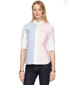 $66.75(reg.$128.00) kate spade colorblock button down shirt