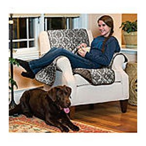 Home Fashions Luxe Home Reversible Chair Slipcover | Bon-Ton