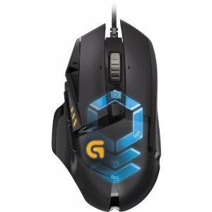 Logitech G502 Proteus Spectrum Optical Gaming Mouse Black