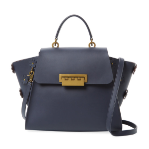 Eartha Iconic Floral Leather Top Handle Satchel by ZAC Zac Posen at Gilt