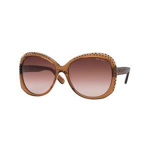 Jimmy Choo Lu - Women's Round Sunglasses | Solstice Sunglasses