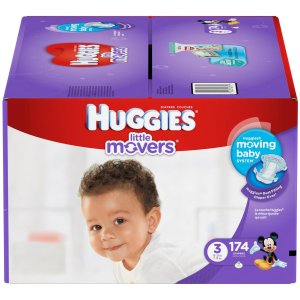 Huggies Little Movers Diapers - Free Shipping