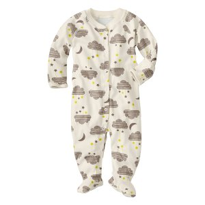 Hanna Andersson Pebble II Little Sleepers Organic Cotton Footie | zulily