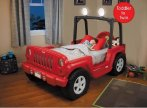 $280 Jeep Toddler Bed, Red