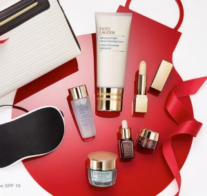 $39.5( worth over $160 ) + up to 6 samples Skincare Superstars Set (Limited Edition) With Any Purchase @ Estee Laurder