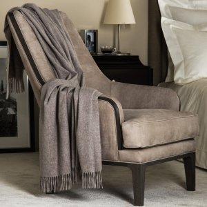 Frette Cashmere Throw Blanket