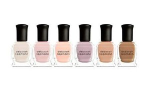 $34(Value $72) Deborah Lippmann Undressed 6-Piece Nude Nail Polish Set