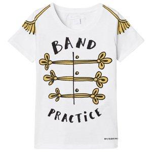 Burberry White Band Practice Print Tee | AlexandAlexa
