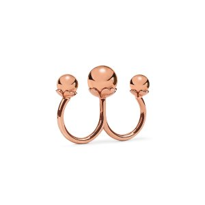 LADY BUBBLE RING Rose Gold Plated - 1R16T014R