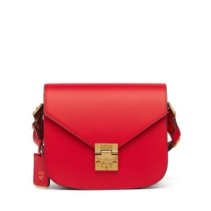 Small Patricia Crossbody in Ruby Red