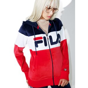 Fila Sandy Velour Jacket | Dolls Kill