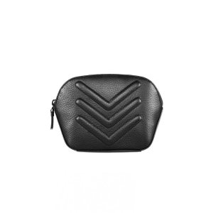 Mackage - SABA PEBBLE LEATHER COSMETIC CASE IN BLACK FOR MEN BY MACKAGE