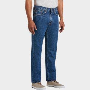 Levi's® 505™ Medium Wash Classic Fit Jeans - Men's Classic Fit