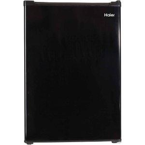 Haier 2.7 cu ft Refrigerator, Black