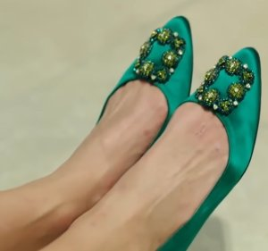 Earn Up to a $750 Gift Card with Manolo Blahnik Women Shoes Purchase @ Saks Fifth Avenue